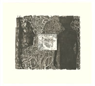 <i>Shrinky Dink 1</i> 2011 Intaglio on Revere Standard White Plate: 20 x 24 inches; 51 x 61 cm Sheet: 28 3/4 x 31 3/4 inches; 73 x 81 cm