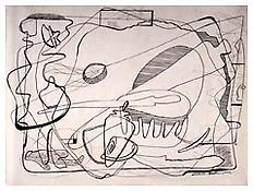 <i>Untitled</i> 1933 Ink on paper 17 1/8 x 24 inches