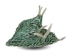 Chris Garofalo, <i>Gymnosperm Blastocoruscate</i>, 2007, Glazed porcelain, 7 1/2 x 7 x 4 1/2 inches; 19 x 18 x 11 cm