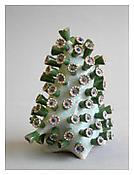 Chris Garofalo, <i>Montastraea Formosum,</i> 2009, Glazed porcelain, 4 1/2 x 3 1/2 x 6 inches; 11 x 9 x 15 cm