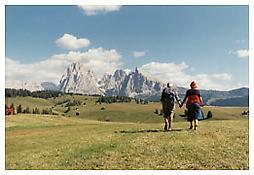 Luigi Ghirri, <i>Alpe di Suisi</i>, 1979, C-print, 7 7/8 x 11 3/4 inches; 20 x 30 cm
