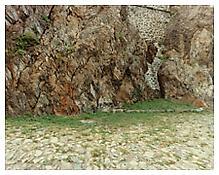 Luigi Ghirri, <i>Sacra di S. Michele, Torino</i>, 1990, C-print, 9 x 11 inches; 23 x 28 cm