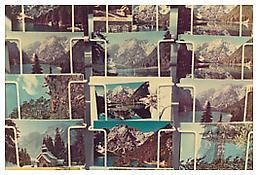 Luigi Ghirri, <i>Lago di Braies</i>, 1978, C-print, 5 7/8 x 9 inches; 15 x 23 cm