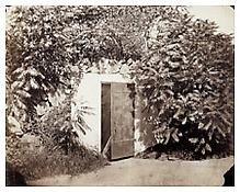 August Kotzsch, <i>Müllers Kellereingang (Entry to Müller's Cellar)</i>, ca. 1870 Albumen print, 6 1/4 x 7 3/4 inches; 16 x 20 cm
