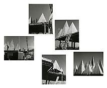 William Kissiloff, <i>[Untitled]</i>, 1966, 5 photographs, Each: 8 1/4 x 9 3/4 inches; 21 x 25 cm