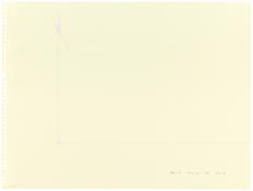 <i>Tucson '87 No. 1 - No. 6</i> 1987 Acrylic and graphite on paper, six sheets No. 2: 9 x 12 inches; 23 x 31 cm