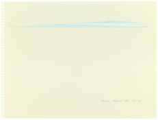 <i>Tucson '87 No. 1 - No. 6</i> 1987 Acrylic and graphite on paper, six sheets No. 5: 9 x 12 inches; 23 x 31 cm
