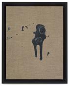 Paul Sietsema <i>Coin toss 4</i> 2011  Enamel on canvas 12 x 15 inches; 31 x 38 cm