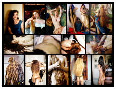 <I>Hair</I> 2011 Chromogenic print 45 x 59 inches; 114 x 150 cm