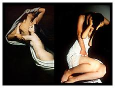 <i>Swan-like embrace, Paris</i> 2010 Chromogenic print 30 x 40 inches; 76 x 102 cm