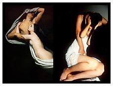 <i>Swan-like embrace, Paris</i> 2010 Chromogenic print 30 x 40 inches; 76 x 102 cm