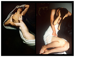 Nan Goldin at the Louvre Museum
