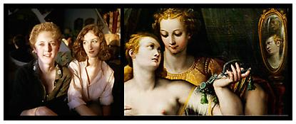 <i>Sisters</i> 2010 Chromogenic print 24 x 59 inches; 61 x 150 cm