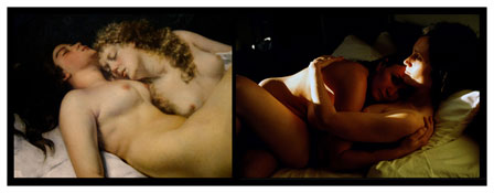 <i>The nap, Paris</i> 2010 Chromogenic print 24 x 64 1/2 inches; 61 x 164 cm