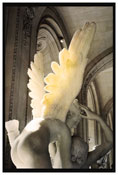 <i>Cupid with his wings on fire, Le Louvre</i> 2010 Chromogenic print 40 x 27 3/8 inches; 102 x 70 cm