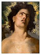 <i>St. Sebastian, Puvis de Chavannes</i> 2011 Archival pigment print 20 x 15 inches; 51 x 38 cm
