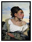 <i>Jeune orpheline au cimetière, Delacroix</i> 2011 Archival pigment print 20 x 15 inches; 51 x 38 cm