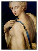 <i>Diana the Huntress, School of Fontainebleau</i> 2011 Archival pigment print 20 x 15 inches; 51 x 38 cm