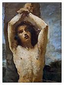 <i>St. Sebastian, Corot</i> 2011 Archival pigment print 20 x 15 inches; 51 x 38 cm