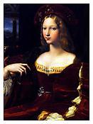 <i>Portrait de Dona Isabel de Requesens, Raphael</i> 2011 Archival pigment print 20 x 15 inches; 51 x 38 cm