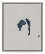 Paul Sietsema <i>Coin toss 5</i> 2011 Enamel on canvas 14 1/2 x 12 inches; 37 x 31 cm