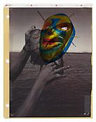 <i>Notebook 34</i> 2003-2011 Collage 11 x 8 1/2 inches; 28 x 22 cm