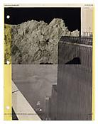 <i>Notebook 50</i> 2003-2011 Collage 11 x 8 1/2 inches; 28 x 22 cm