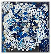 <i>Tessellation Figures (10)</i> 2011 Oil on linen 80 x 76 inches; 203 x 193 cm