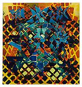<i>Tessellation Figures (12)</i> 2011 Oil on linen 80 x 76 inches; 203 x 193 cm