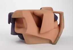 <i>Untitled</i> 2011 Gypsum cement, resin clay, acrylic paint 15 1/2 x 26 x 21 inches; 39 x 66 x 53 cm