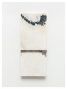 <i>#3</i> 2011    Oil and graphite on marble       19 3/4 x 8 inches; 50 x 20 cm