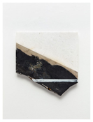 <i>#9</i> 2011    Oil and graphite on marble      16 3/8 x 15 3/4inches; 42 x 40 cm