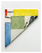 <i>Formal Marble</i> 2011    Oil and graphite on marble       28 3/8 x 25 1/8 inches; 72 x 64 cm