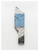 <i>Years</i> 2011    Oil and graphite on marble       25 5/8 x 6 7/8 inches; 65 x 18 cm