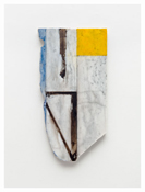 <i>Years 2</i>    2011    Oil and graphite on marble       21 1/4 x 11 1/4 inches; 54 x 29 cm