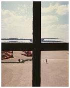 <i>Versailles</i>    1977    Vintage cibachrome   From the series <i>Kodachrome</i> and <i>Vedute</i>    11 x 8 3/8 inches; 28 x 21 cm