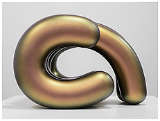 <i>Yogi</i> 2011 Painted bronze composite 36 1/4 x 54 1/2 x 44 1/2 inches 92 x 138 x 113 cm