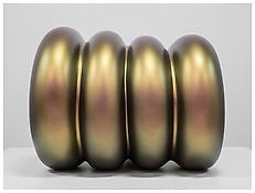 <i>Yogi</i> 2011 Painted bronze composite 36 1/4 x 54 1/2 x 44 1/2 inches 92 x 138 x 113 cm