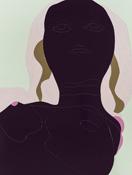 Gary Hume <i>Wild Hedges</i> 2012 Enamel on aluminum 110 1/4 x 82 5/8 inches; 280 x 211 cm