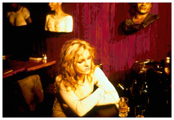 <i>Cookie at Tin Pan Alley, NYC</i> 1983 Cibachrome 30 x 40 inches; 76 x 102 cm