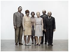 Martin Honert <i>Group of Teachers</i> 2012 Polyurethane, sand, glass, textiles and oil paint 78 3/4 x 102 1/4 x 39 1/4 inches 200 x 260 x 100 cm