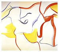 <i>Untitled</i> 1984 Oil on canvas 77 x 88 inches; 196 x 224 cm