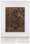 <i>Numbers</i> 2007 Bronze 107 1/2 x 83 x 2 1/4 inches; 273 x 211 x 6 cm