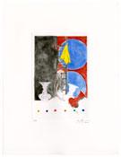 <i>Untitled</i> 2012 Color intaglio Image: 11 3/4 x 8 inches; 30 x 20 cm Sheet: 21 x 16 inches; 53 x 41 cm