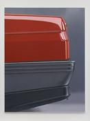 Peter Cain <I>Coward</i> 1993 Oil on linen 83 x 63 inches; 211 x 160 cm