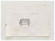 <i>Untitled</i> 2006 Graphite on paper 9 x 12 inches; 23 x 31 cm