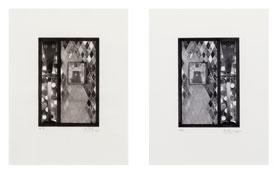 Bushbaby 2005-2006 Intaglio; Etching and aquatint Each sheet: 17 3/4 x 13 1/2 inches; 45 x 34 cm