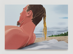 <I>Sean Number Two</i> 1996 Oil on linen 60 x 84 inches; 152 x 213 cm