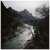 <i>Fullmoon@Virgin River</i> 2012 C-print face mounted onto Perspex 70 3/4 x 70 3/4 inches; 180 x 180 cm