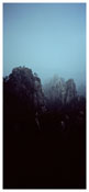 <i>Fullmoon@Huangshan</i> 2009 C-print face mounted onto Perspex 108 3/8 x 48 1/2 inches; 275 x 123 cm